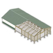 Rutten structures building and construction types for Pre engineered roof trusses